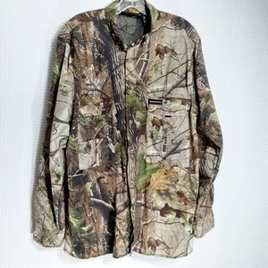 Winchester Vented Hunting Shirt Lightweight Sz M